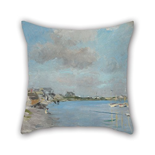 [Uloveme 16 X 16 Inches / 40 By 40 Cm Oil Painting Hawthorne, Charles Webster - Sketch, Hyannisport Pillow Shams,twice Sides Is Fit For Drawing Room,club,family,him,dining] (Kathy Terry Costume)