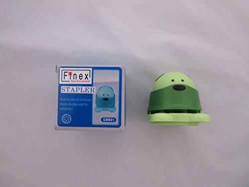 FINEX Teddy Bear Staple Free Stapler Eco Friendly Stapleless Staples Paper Staplers Safe and Save Earth (Set of 2 colors (Random)) by Finex (Image #4)