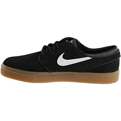 Nike Zoom Oneshot SB, Zapatillas de Skateboarding para Hombre, Negro/Blanco (Black/White-Gum Light Brown), 45 EU