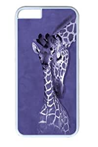 For SamSung Galaxy S5 Case Cover -Giraffe Family PC Hard Plastic For SamSung Galaxy S5 Case Cover Whtie