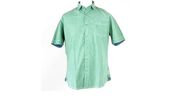 Pioneer - Camisa casual - Étnica - Clásico - Manga corta - para ...