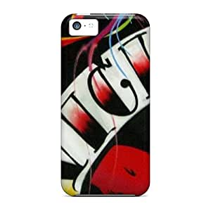 Excellent Design Love Hearts Case Cover For Iphone 5c