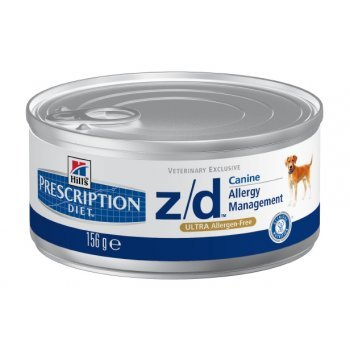 Hill's Prescription Diet z/d ULTRA Allergen-Free Dog Food Canned (24 5.5-oz cans)