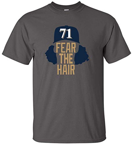 Charcoal Milwaukee Hader Fear The Hair T-Shirt Youth