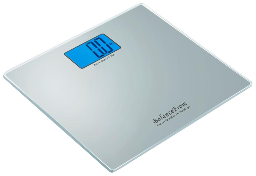 Amazon.com: BalanceFrom High Accuracy Digital Bathroom Scale with ...