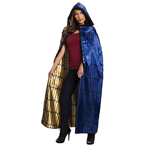[Rubie's Women's Batman v Superman: Dawn of Justice Deluxe Wonder Woman Cape, Multi, One Size] (Wonder Woman Robe)