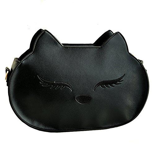 Pairs D - Bolso mochila  para mujer negro negro small