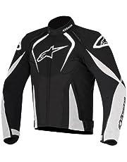 Alpinestars Men's T-Jaws Waterproof Jacket (Black/White, Large)
