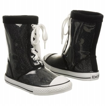 CONVERSE Kids' All Star Weather Boot Pr (Black/Sparkle 11.0 M)
