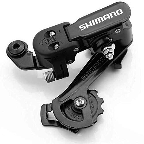 MG554zy0 6/7 Speed MTB Mountain Bike Bicycle Metal Rear Derailleur for Shimano RD-TZ31 Black ()