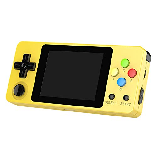 crae9kd LDK Second Generation Game Console Mini Handheld Family Retro Games Console Yellow by crae9kd (Image #8)