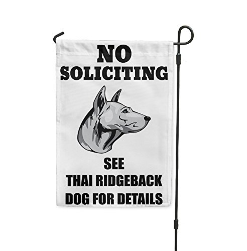 no-soliciting-see-thai-ridgeback-dog-for-details-yard-patio-house-garden-flag-flag-only-8-x-11-1-2