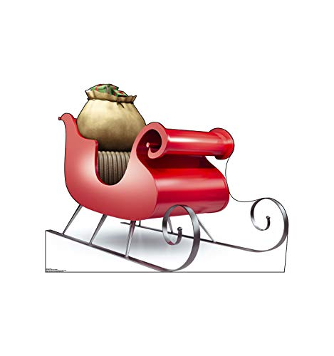 Advanced Graphics Santa's Sleigh Life Size Cardboard Cutout ()