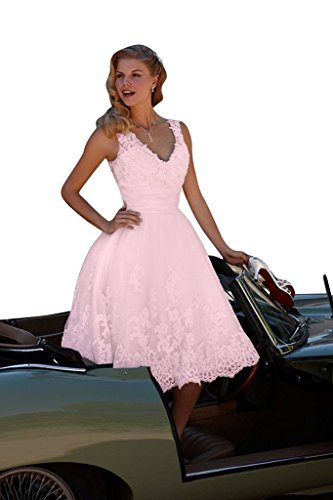 Bridal Pink Women's Dress Short Ball Appliqued Gown Amore Gown Wedding Bridal 8fxwv5Tgq