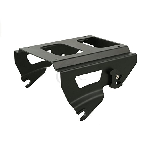 CQQS STORE - Carrier Systems - Detachable Solo Pak Mount Rack for Harley Road Street Glide Electra Glide 2009-2013 2012 1 PCs