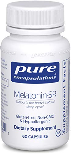 (Pure Encapsulations - Melatonin-SR - Sustained Release Hormone to Regulate The Body's Circadian Rhythm, Endocrine Secretions, and Natural Sleep/Wake Cycle* - 60)