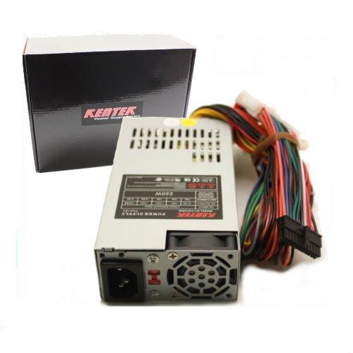 KENTEK 250 Watt 250W Flex ATX Power Supply Replacement HP Pavilion Slimline 5188-7520,5188-7521,5188-2755,5188-7602,s3200n,s3000,s3100n,s3400f,s3500f,AC BEL PC6012,PC6034,Delta DPS-160QB,DPS-108DB