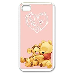 iPhone 4,4S Phone Case Cover winnie the pooh ( by one free one ) W63575