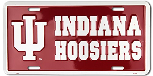Metal Hoosiers Indiana (Indiana University Hoosiers Metal Tin Sign)