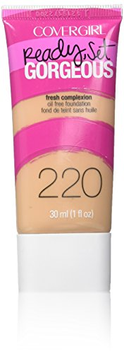 CoverGirl Ready, Set Gorgeous Liquid Makeup Foundation, Soft Honey 220-1 fl oz (30 ml)