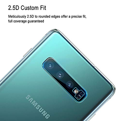 Casetego Compatible Galaxy S10 Plus/S10 Camera Lens Protector, [3 Pack]Thin Transparent Clear Camera Tempered High Definition Camera Lens Protector for Samsung Galaxy S10 Plus/S10,Clear