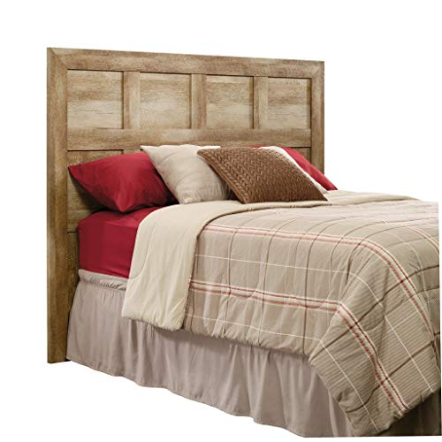 Sauder Dakota Pass Full / Queen Panel Headboard, Crafsman Oak