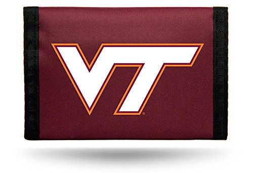 - NCAA Virginia Tech Hokies Nylon Trifold Wallet