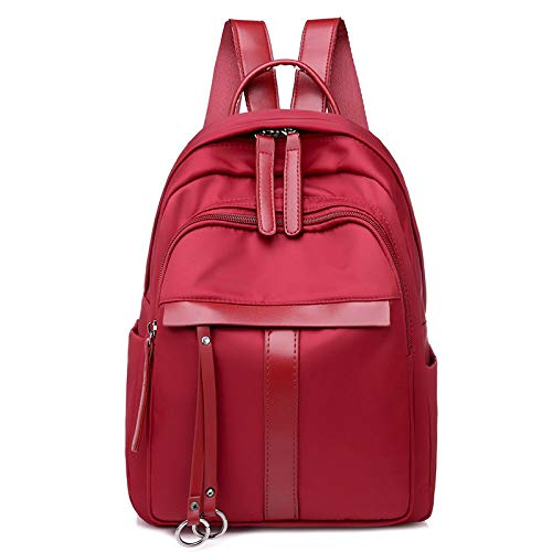 Mochila Rojo Wild Dama Casual Wmyx Simple Vino Bag 8qwv8dS