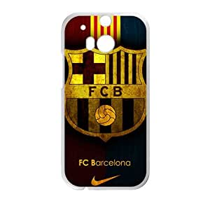 FC Barcelona Fashion Comstom Plastic case cover For HTC One M8