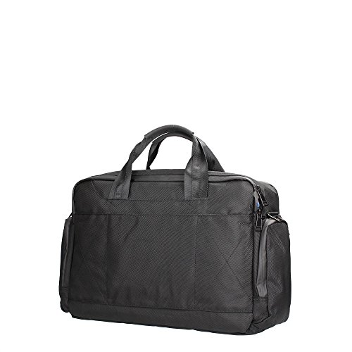 Borsa Mano e Tracolla Uomo Donna Napapijri Work Briefcase 2 Compartment Black N8D03