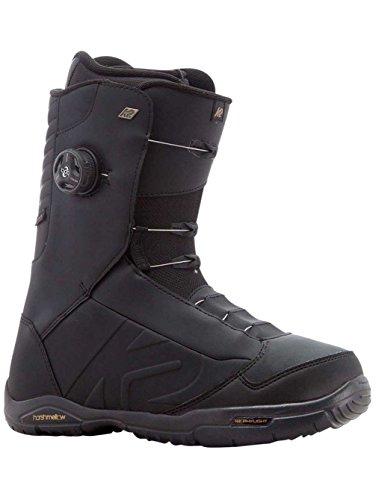 K2 Men's Ashen: Snowboard Boots (Black, 11) - K2 Snowboarding