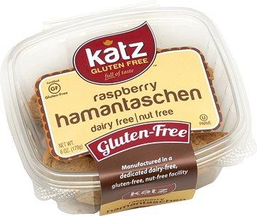 Katz, Gluten Free Raspberry Hamantaschen, 6 Ounce, (6 Pack)