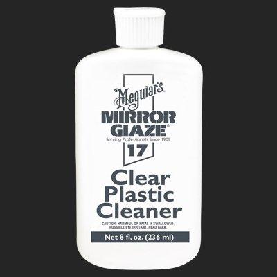Meguiars #17 Clear Plastic Cleaner, 8 oz Bottle