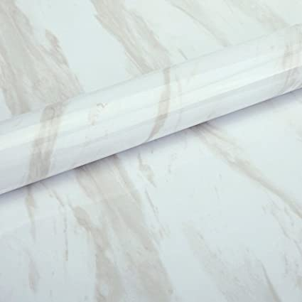 YUELA Papel tapiz papel tapiz de pared autoadhesivas calcomanías imitación mármol armario archivador pegatinas de renovación