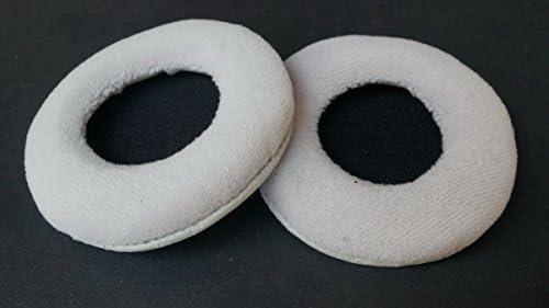 イヤーパッドearpadsレザークッション修理部品ヤマハhph-150ヘッドホン(YAMAHA earmuffes)ヘッドセット(グレイ)