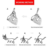 RYPET Small Dog Harness and Leash Set - No Pull Pet Harness with Soft Mesh Nylon Vest for Small Dogs and Cats Gray L