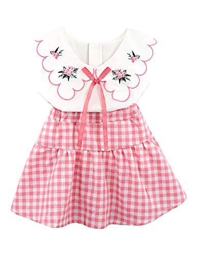 (Toddler Baby Girl Outfits 2Pcs Ruffle Print T-Shirt Tops and Shorts Pants Clothes Sets 2-3 T)