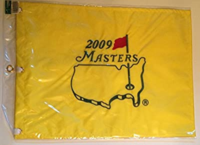 2009 MASTERS Golf Tournament Pin Flag Augusta National Pga