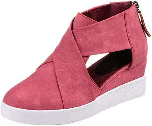 ba0d158df627a Shopping Slip-On & Pull-On - Wedge - Pink - Boots - Shoes - Women ...