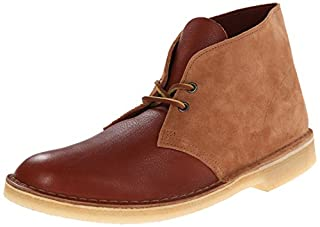 CLARKS Men's Desert Chukka Boot, Tan Combi, 9.5 M US (B00MMYMCCQ) | Amazon price tracker / tracking, Amazon price history charts, Amazon price watches, Amazon price drop alerts