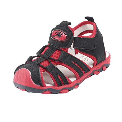 Sherostore ♡ Summer Beach Outdoor Closed-Toe Sandals for Boys and Girls (Toddler/Little Kid/Big Kid) ()