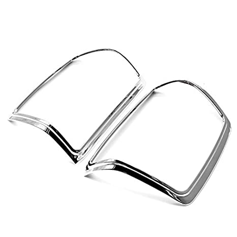 Amazon Com Erushautoparts Ultra Chrome Tail Light Covers For 2014