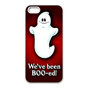 Halloween pattern iPhone 4 4s Cell Phone Case White phone component RT_135625