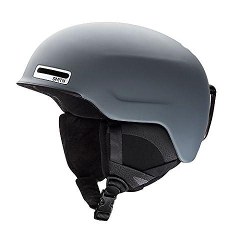 Smith Optics Unisex Adult Maze Snow Sports Helmet - Matte Charcoal Small (51-55CM) - Smith Maze Audio