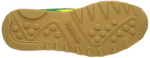 Reebok CL NYLON R13 - Zapatillas de cuero unisex multicolor - Mehrfarbig (GOAL GREEN/BLAZE YELLOW/WHT/LEMON PEPPER/NAVY)