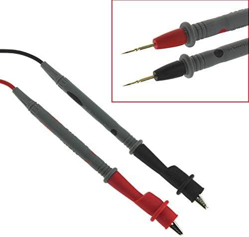 TenYua C/âble de test de sonde 1000 V 20 A clips de serrage pour testeur multim/ètre num/érique