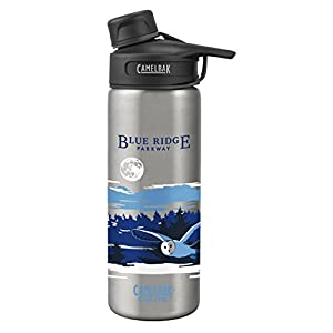 CamelBak Chute Vacuum Insulated Stainless National Parks Water Bottle, Blue Ridge National Parkway, 20 oz
