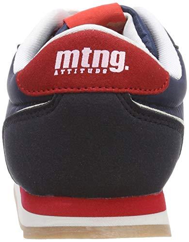 action Rojo 83599 C46011 Pu Nylon Marino Mtng Azul Calfy Niños Para Zapatillas FqWgwX