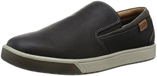KEEN Mens Glenhaven Slip On Shoe, Negro, 40.5 D(M) EU/7 D(M) UK