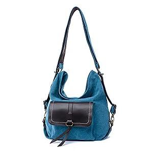 JOYSKY HB440093C6 2016 Canvas Korean Version Women's Handbag,Dumplings Type Crescent Package